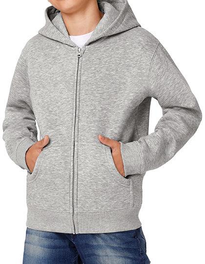Hooded Full Zip Sweat / Kids | B&C