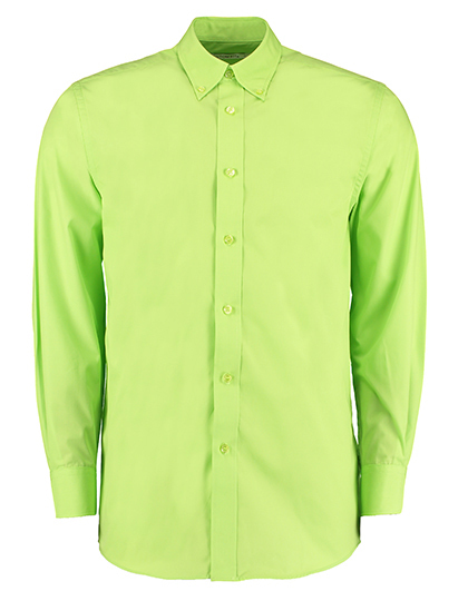 Mens Workforce Shirt Long Sleeve | Kustom Kit