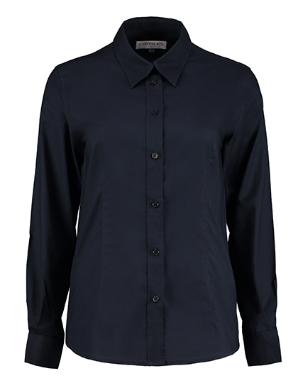 Womens Workwear Oxford Shirt Long Sleeve | Kustom Kit