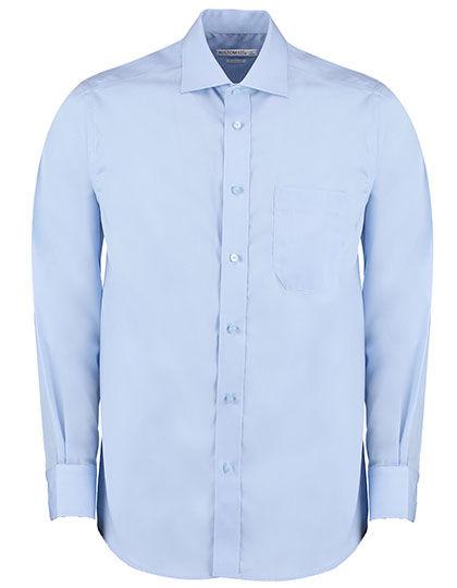Mens Premium Non Iron Corporate Shirt Long Sleeve | Kustom Kit