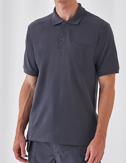 Skill Pro Polo   B&C Pro Collection