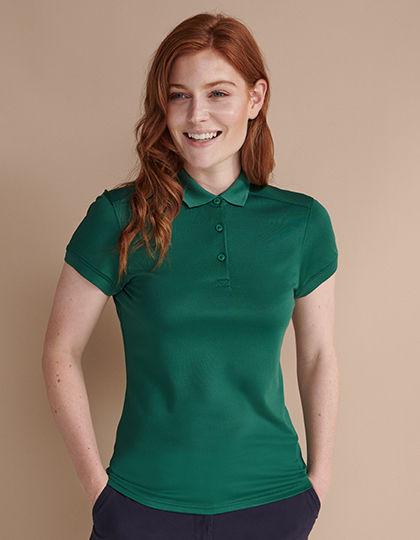 Ladies Stretch Polo Shirt + Wick Finish   Henbury