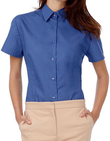 Poplin Shirt Heritage Short Sleeve / Women | B&C