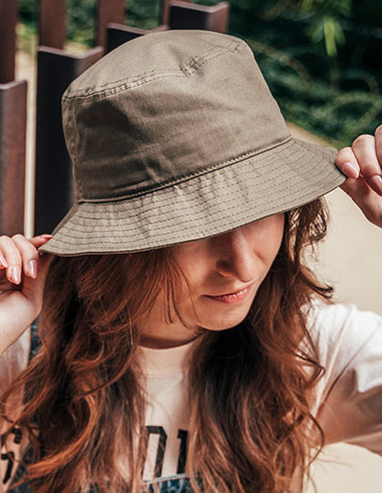 Bucket Cotton Hat | Atlantis