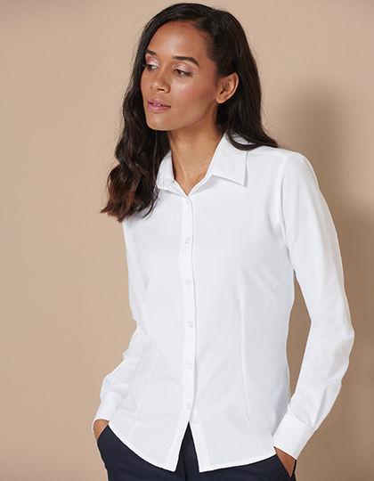 Ladies Wicking Long Sleeve Shirt | Henbury
