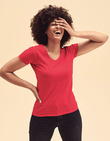 Valueweight V-Neck T Lady-Fit | Fruit of the Loom