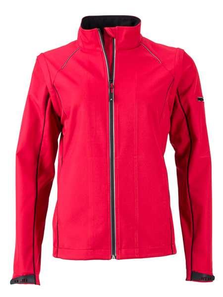 Ladies` Zip-Off Softshell Jacket | James & Nicholson