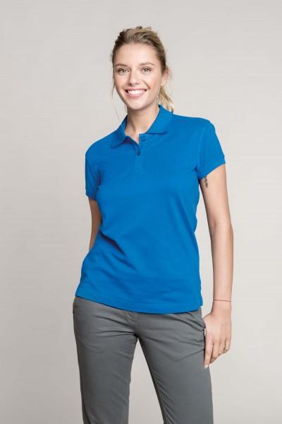 Damen Piqué Poloshirt Kurzarm | Kariban