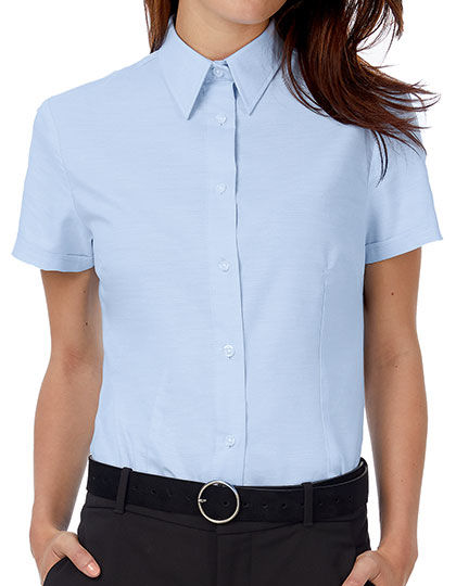 Oxford Shirt Short Sleeve / Women | B&C