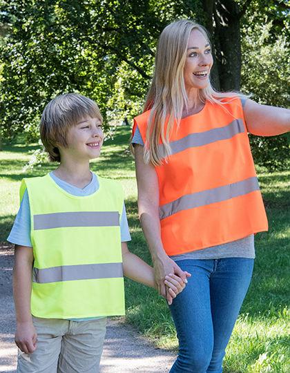 Kids Safety Poncho EN 1150 | Korntex