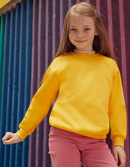 Classic Set-In Sweat Kids | Fruit of the Loom