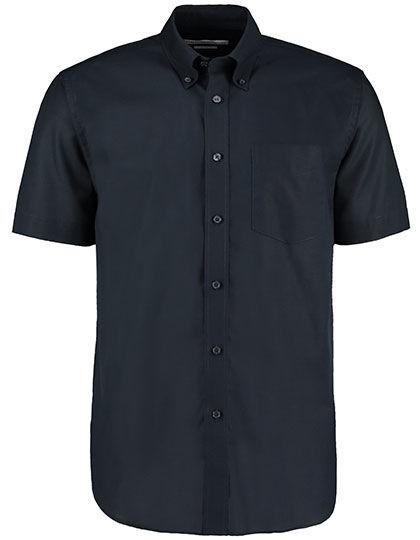 Mens Workwear Oxford Shirt Short Sleeve | Kustom Kit