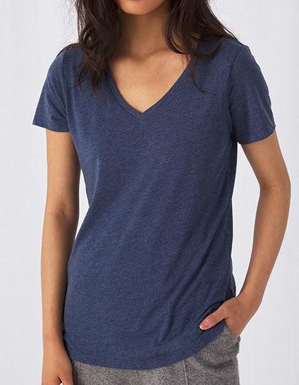 V-Neck Triblend T-Shirt /Women | B&C