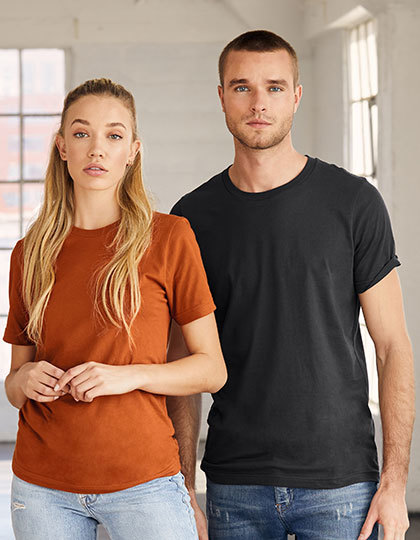 Unisex Jersey Crew Neck T-Shirt   bella+canvas