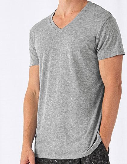 V-Neck Triblend T-Shirt /Men | B&C