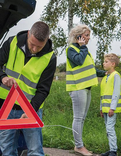 Car Safety Vest Family Pack EN ISO 20471   Korntex