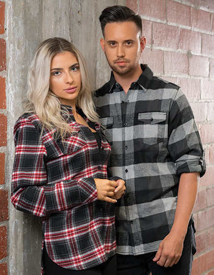 Woven Plaid Flannel Shirt | Burnside
