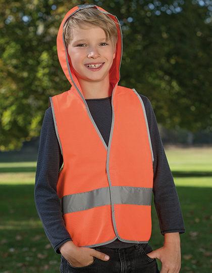 Kid´s Hooded Safety Vest EN 1150 | Korntex
