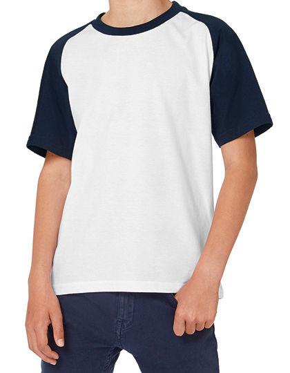 T-Shirt Base-Ball / Kids | B&C