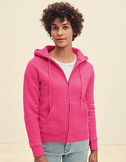 Fruit of the Loom Premium Hooded Sweat Jacket Lady-Fit Jacke Hoodie F440N Damen