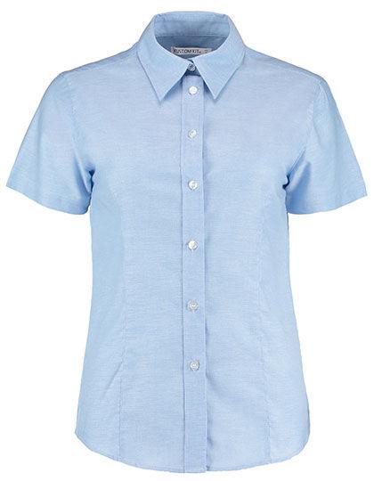 Womens Workwear Oxford Shirt Short Sleeve   Kustom Kit
