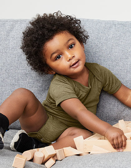 Baby Triblend Short Sleeve Onesie | bella+canvas