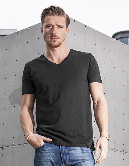 Light T-Shirt V-Neck | Build Your Brand