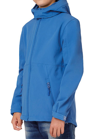 Hooded Softshell / Kids | B&C