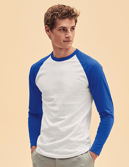 Long Sleeve Baseball T | Fruit of the Loom