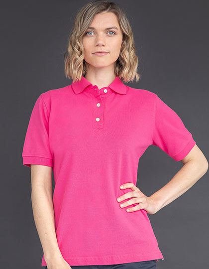 Ladies Classic Cotton Piqué Polo Shirt   Henbury