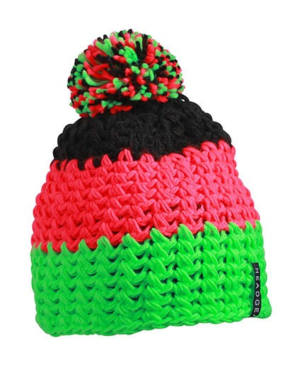 myrtle beach-Crocheted Cap with Pompon